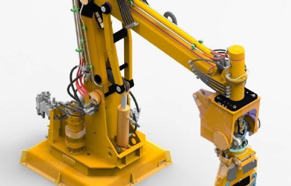 Ťažké hydraulické manipulátory